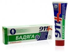 911 Бадяга засіб від синців та забоїв 100мл