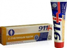 911 з бджолиною отрутою гель-бальзам для суглобів 100мл