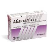 Абактал таблетки 400мг 10 шт.
