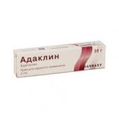 Адаклин крем 0,1% 30г для наружного применения