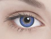 Адриа линзы контактные цветные сапфир тон 3 /8,6/-8,0D 2шт.
