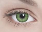 Адриа линзы контактные цветные зеленый тон 2 /8,6/-7,0D 2шт.