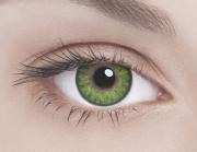 Адриа линзы контактные цветные зеленый тон 3 /8,6/-3,0 D 2шт.