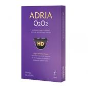 Адриа линзы контактные O2O2 1мес/8,6/-3,25D 6шт.
