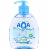 Аква Беби мыло жидкое для малыша 300мл с дозатором