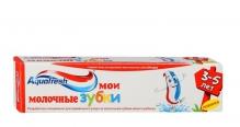 Аквафреш зубна паста дитяча Мої молочні зубки 3-5 років 50мл