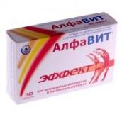АлфаВит Эффект витамины таблетки 60 шт.