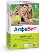 АлфаВит Тинейджер витамины таблетки 60 шт.