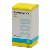 Аллопуринол таблетки эгис 300мг 30 шт.