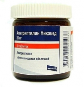 Амитриптилин-никомед 25мг №50 таблетки