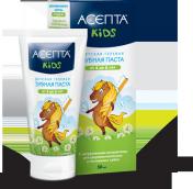 Асепта Kids паста гелевая зубная детская 4-8 лет 50мл