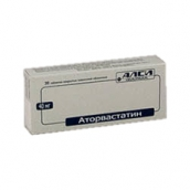 Аторвастатин 40мг №30 таблетки /Алси фарма/