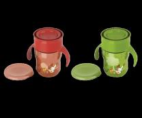 Авент гуртка-поїльник Доросла чашка червона/зелена від 12 міс 260мл, арт. 83440 (SCF782/00)