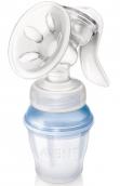 Авент молокоотсос Natural ручной с контейнерами, арт. 86530/86540 (SCF330/12)