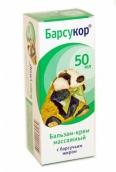 Барсукор бальзам-крем массажный 50мл
