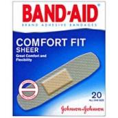 Бэнд-эйд пластырь антисептик абсолютный комфорт 20шт