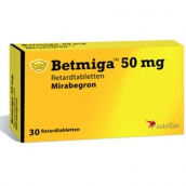 Бетмига 50мг №30 таблетки