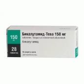 Бикалутамид-Тева 150 мг №28 таблетки