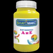 Благомакс витамины А и Е №90 капсулы