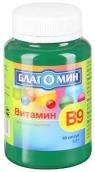 Благомин Вітамін В9 (фолієва кислота) №90 капсули