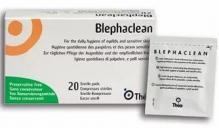 Блефаклин салфетки стерильные для гигиены век 20шт
