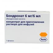 Бондронат концентрат для раствора 6мг/6мл №1 флакон