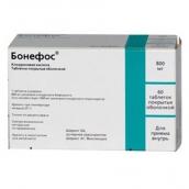 Бонефос 800мг №60 таблетки