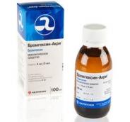Бромгексин-Акрихин 4мг/5мл сироп 100мл