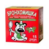 Бронхомишка микстура от кашля сухая детская 1,47г №15 пакеты