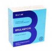 Бруламицин 40мг/1мл раствор для инъекций №10 ампулы