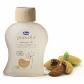 Чикко Pure.bio масло детское массажное 100мл