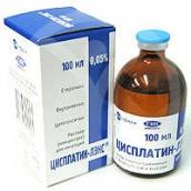 Цисплатин-ЛЕНС концентрат для розчину 0,5 мг/мл 100мл №1 флакон