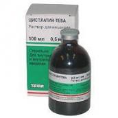 Цисплатин-Тева концентрат для приготування розчину 0,5 мг/мл 100мл №1 флакон