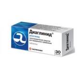 Диаглинид 1мг №30 таблетки