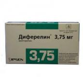 Диферелін ліофілізат для суспензії 3,75 мг №1 флакон