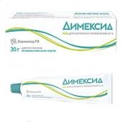 Димексид гель для наружного применения 25% 30г