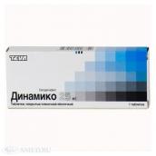 Динамико 25мг №1 таблетка