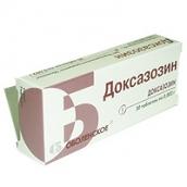 Доксазозин 4мг №30 таблетки