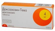 Доксазозин-Тева 4мг №30 таблетки