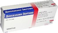 Доксазозин Зентіва 1мг №30 таблетки