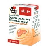 Доппельгерц актив эссенциальные фосфолипиды + витамины группы В 1070мг №60 капсулы