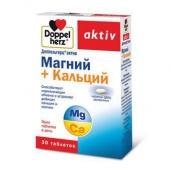 Доппельгерц актив магний +кальций депо №30 таблетки