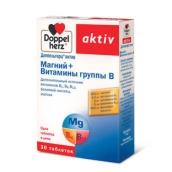 Доппельгерц актив магний+витамины группы В №30 таблетки