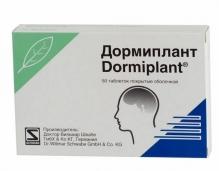 Дормиплант №50 таблетки