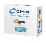 Экофемин Баланс микрофлоры 250мг №15 капсулы