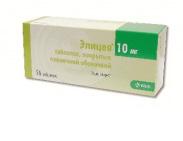 Элицея 10мг №56 таблетки