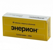 Энерион 200мг №60 таблетки