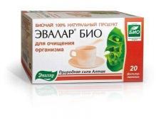 Эвалар БИО чай для очищения организма 1,5г №20 фильтр-пакеты