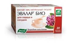 Эвалар БИО чай для сердца и сосудов 1,5г №20 фильтр-пакеты