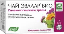 Эвалар БИО чай гинекологические травы 1,5г №20 фильтр-пакеты